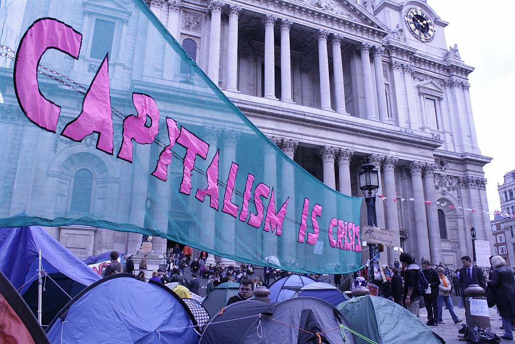Occupy LSX camp at St Paul's